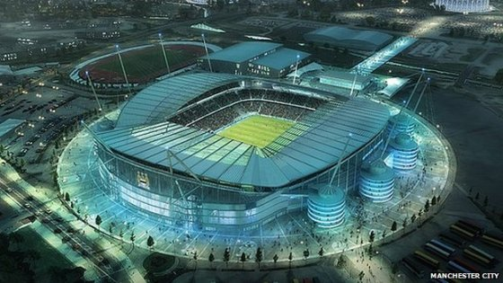 Expanded stadium